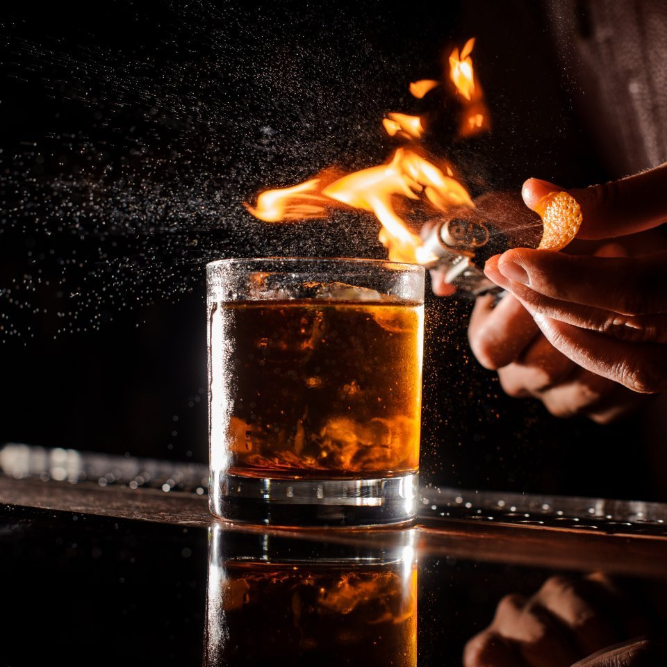 Whiskey on Fire