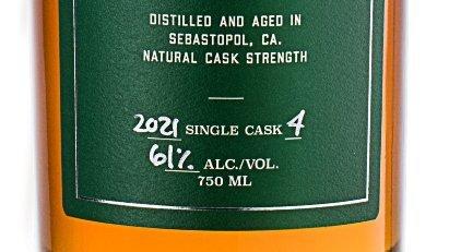 Spirit Works label closeup